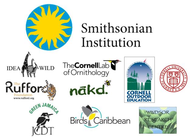 Jamaica trip sponsor logos